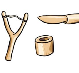 Illustrasjon av ting du kan spikke.